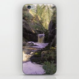 The stream in mountains iPhone Skin