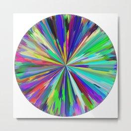 color wheel 06 Metal Print