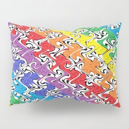 Colorful Abstract  Pillow Sham