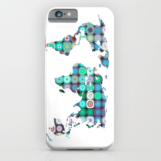 WORLD MAP iPhone & iPod Case