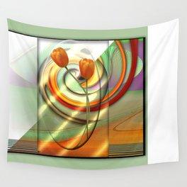 Tulip Tango Wall Tapestry
