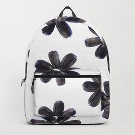 Sunflower Seeds Flower Pattern Backpack