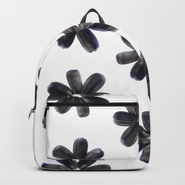 Sunflower Seeds Flower Pattern Backpack