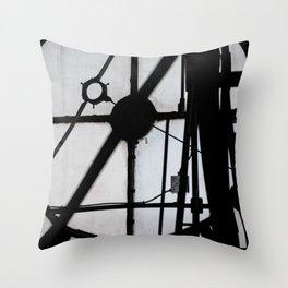 Bromo Seltzer Tower Throw Pillow