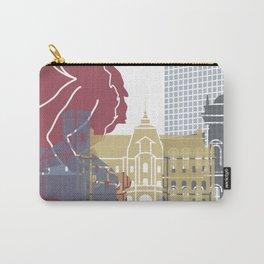 Ljubljana skyline poster Carry-All Pouch