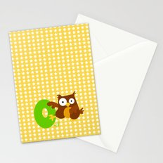 o for owl Stationery Cards
