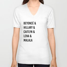 Influential Women Of Today Unisex V-Neck