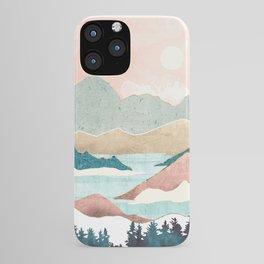 Lake Sunrise II iPhone Case