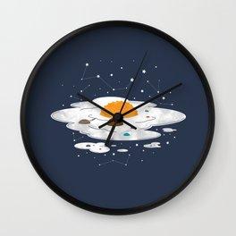 Egg Dimension Wall Clock