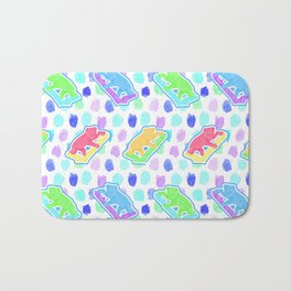 Beautiful Australian Native Animal Print - Cute Koalas Bath Mat