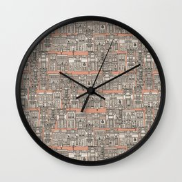 Avenue des Mode Wall Clock