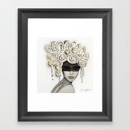 The Actress Framed Art Print