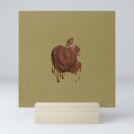 Melted Apple Chocolate Mini Art Print