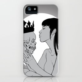 My Beloved King iPhone Case