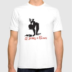 12 Years a Slave White Mens Fitted Tee MEDIUM