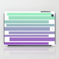 ombre iPad Cases featuring Ombre by Miranda Williams