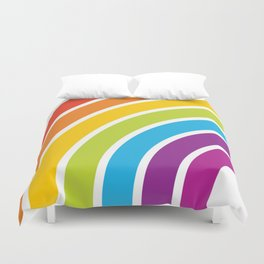 A Rainbow World Duvet Cover