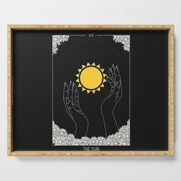 The Sun - Tarot Illustration Serving Tray