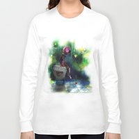 baking Long Sleeve T-shirts featuring Baking Heart Doll by j3rryc