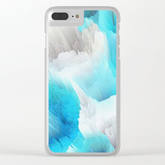 Cold World Clear iPhone Case
