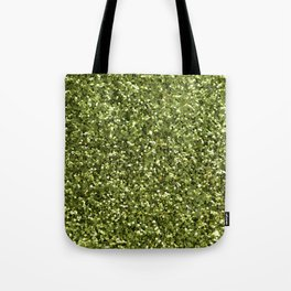 Green Glitter Tote Bag
