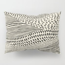 Hand Drawn Patterned Abstract II Pillow Sham