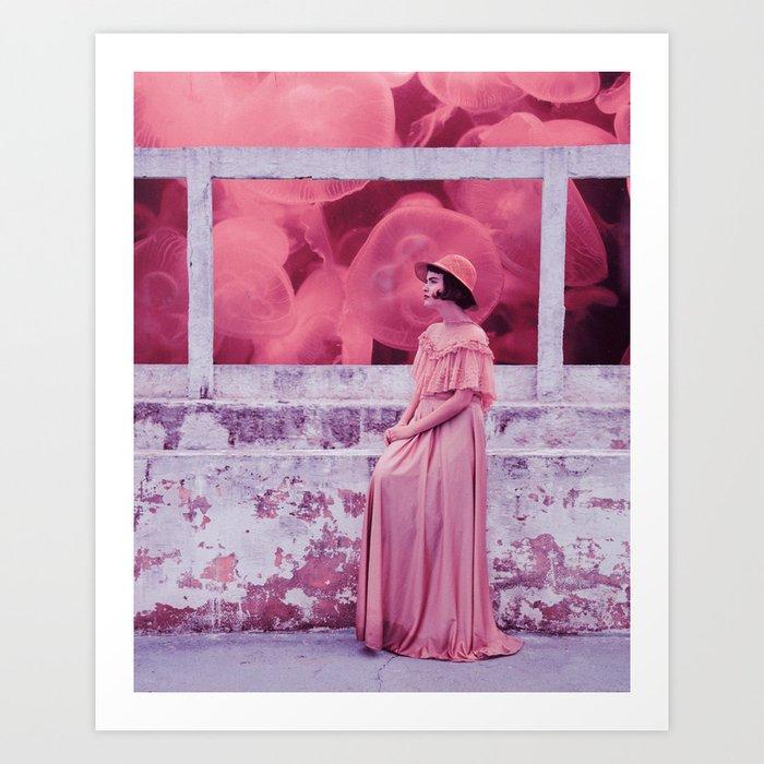 Jellypink Art Print