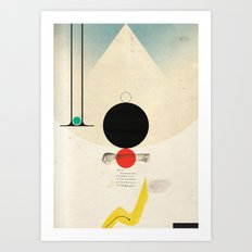 Oneonone Art Print