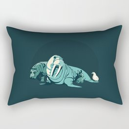 I Am the Walrus - Magical Mystery Tour Album Design Rectangular Pillow