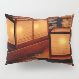 Japanese floating lantern Pillow Sham