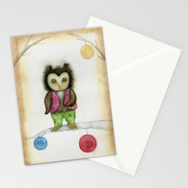 cute owls Stationery Cards
