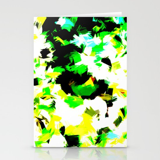 BLOSSOMS - COLORS Stationery Cards