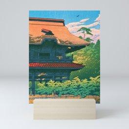12,000pixel-500dpi - KAMAKURA KENCHOJI - Kawase Hasui Mini Art Print