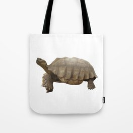 Sulcata Tortoise (side view) Tote Bag