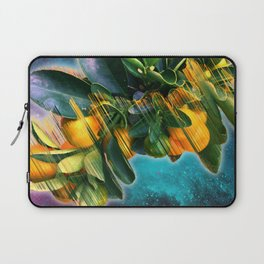 Small fruit tree in outer space Laptop Sleeve