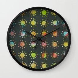 DP038-1 grungy critter Wall Clock