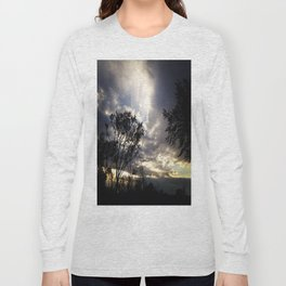 Peaceful and powerful sunset Long Sleeve T-shirt