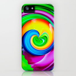 Abstract Perfection 29 iPhone Case