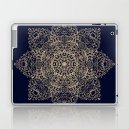 Golden star, mandala Laptop & iPad Skin