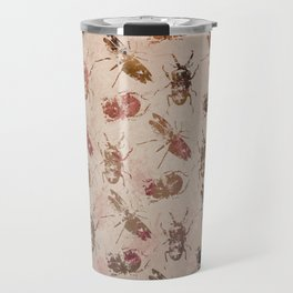 hot buggy mess persimmon brown Travel Mug