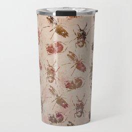 hot buggy mess persimmon brown Travel Mug
