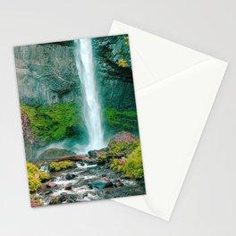 Latourell Falls Oregon United States Ultra HD Stationery Cards