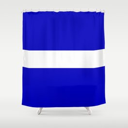 EMS: The Thin White Line Shower Curtain