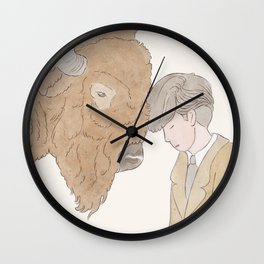 The Mormon Businessman Wall Clock