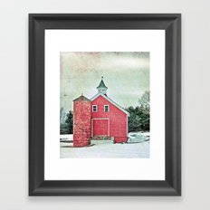 Country Cache  Framed Art Print