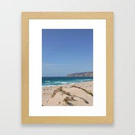 Summer Beach Framed Art Print