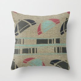 Riviera 4 Throw Pillow