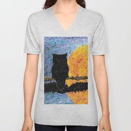 Reflecting Unisex V-Neck