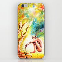 fishing iPhone & iPod Skins featuring FISHING by danyDINIZ