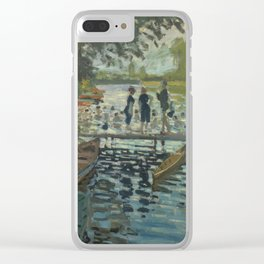 Bathers at La Grenouillère Clear iPhone Case